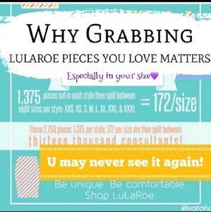 LuLaRoe Tops - Lularoe extra small pink and gray Irma